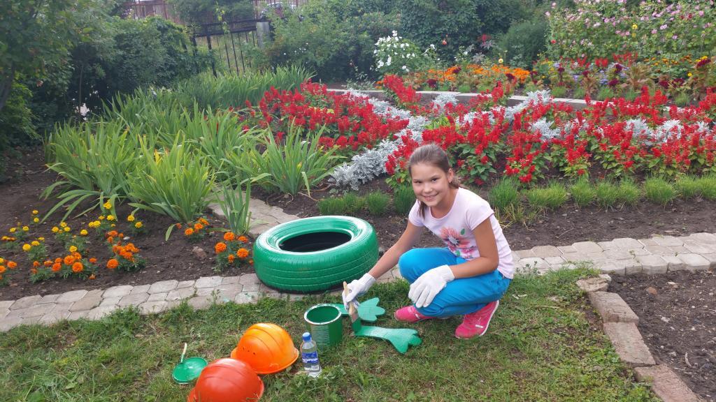 Украшаем сад своими руками 28